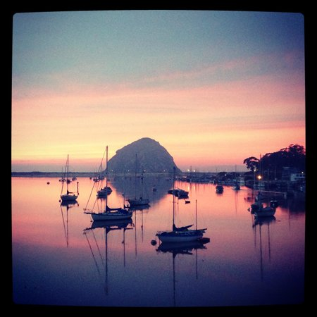 Inn at Morro Bay:                   Gorgeous sunset