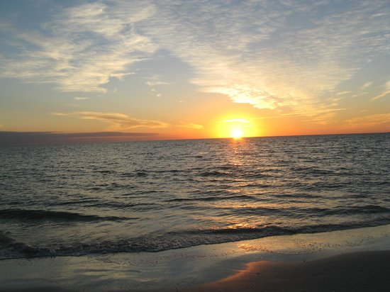 Pointe Estero Beach Resort:                   Sunset