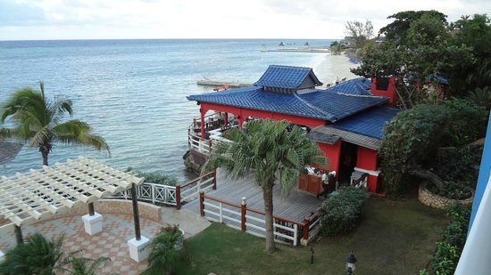Sandals Montego Bay:                   Room with a view