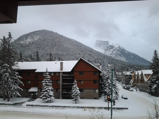 Banff Aspen Lodge:                   view from room