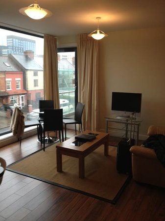 Your Home from Home - Southdock:                   Living Room