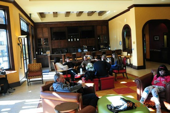 SpringHill Suites Napa Valley:                   lobby