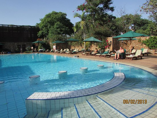 Nairobi Serena Hotel:                                     The pool