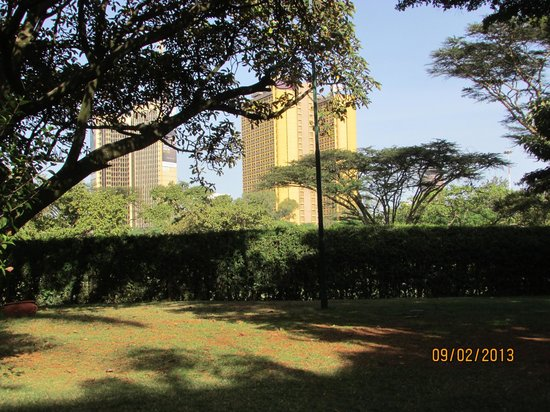 Nairobi Serena Hotel:                                     View from our room