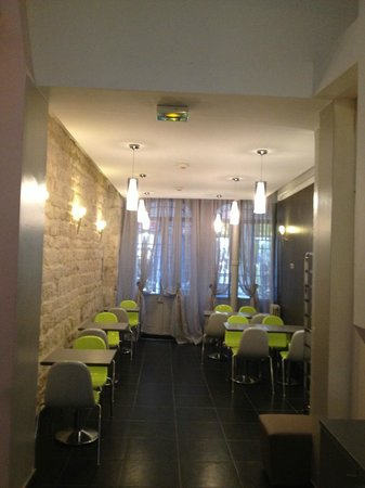 Avalon Paris Hotel: our new extension of the breakfast room february 2013