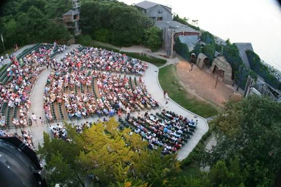 The Lost Colony: The Theatre From Above