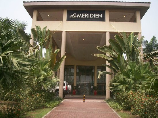 Le Meridien Ibom Hotel &amp; Golf Resort: Arrival
