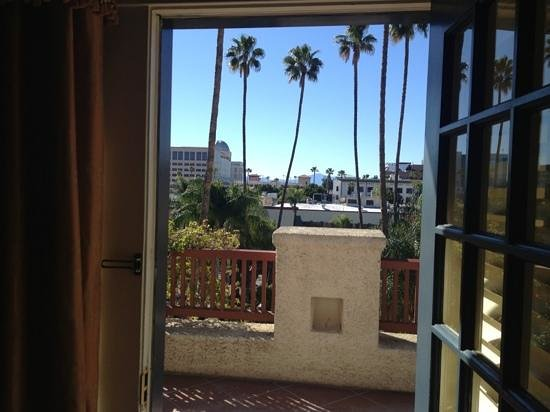 The Mission Inn Hotel and Spa:                   View from room 320