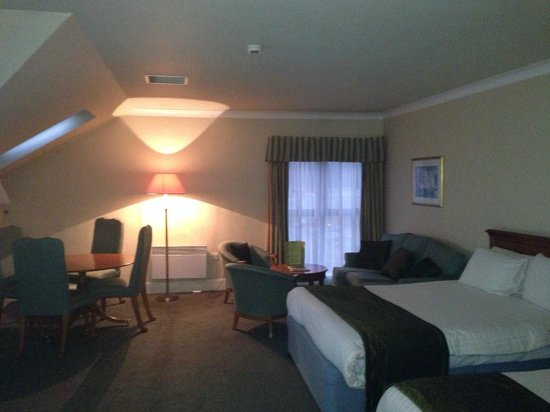 Holiday Inn Rotherham-Sheffield M1, Jct. 33:                   large room but even with flash on very dim
