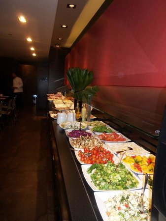 Dan Panorama Jerusalem:                   Excellent buffet for breakfast (this is just part of it)
