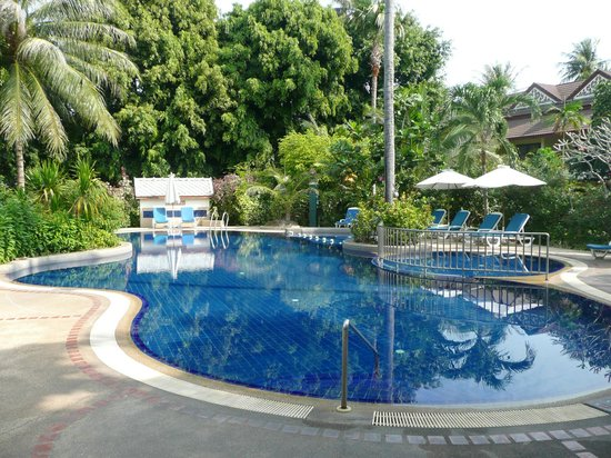 Paradise Beach Resort:                   Pool Set in the Gardes