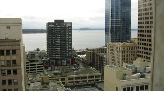 Red Lion Hotel on Fifth Avenue Seattle: Awsome view