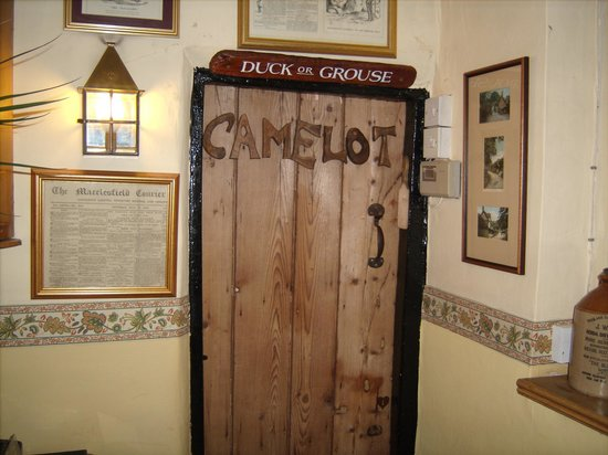 Alderley Edge, UK:                   the door to camelot