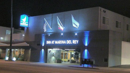 "The  Inn at Marina del Rey:                   ""Inn at night"""