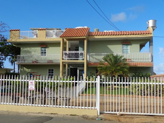 front of hotel picture of luquillo puerto rico. Black Bedroom Furniture Sets. Home Design Ideas