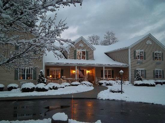 Winter at Houghton