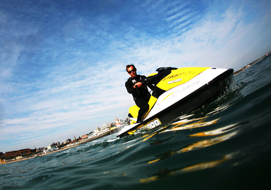 Bournemouth, UK:                   watersports