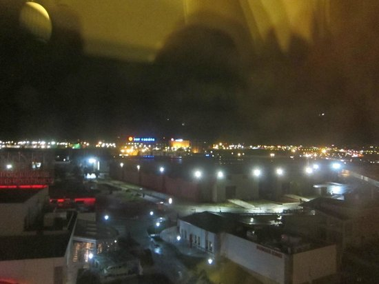 Wow Airport Hotel:                   View from the room
