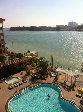 Holiday Inn Express Hotel & Suites Clearwater / US 19N: view from balcony
