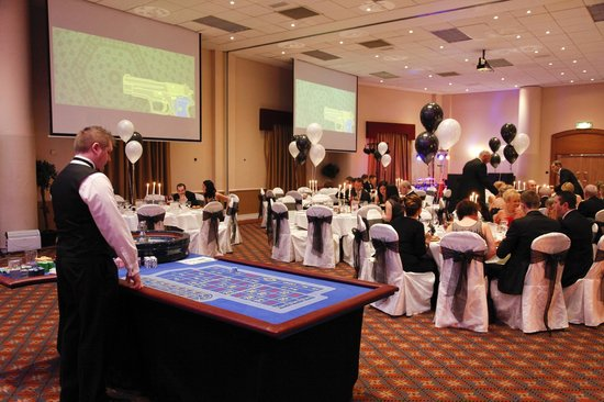 Wellington Park Hotel:                   40th birthday