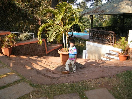 View Of Swimming Pool From Woodside Cottage Picture Of Prospect Hotel Panchgani Tripadvisor