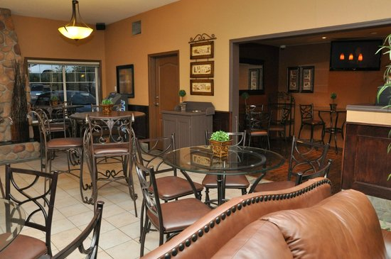 BEST WESTERN Mountainview Inn: Lobby Cafe