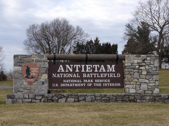 Sharpsburg, แมรี่แลนด์:                   Antietam National Battlefield