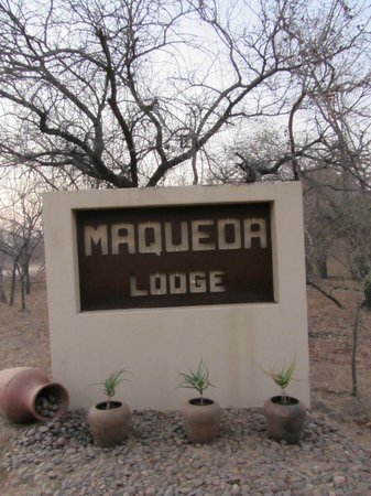 Entering Maqueda Lodge