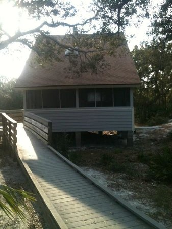 St. Joseph Peninsula State Park:                   Cabin #6