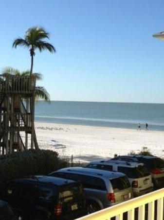 Sandpiper Gulf Resort:                   This is out the front - not the courtyard view.