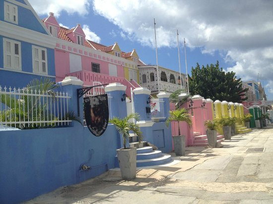 Avila Hotel - Curacao:                   Walking down the street from the Avila Hotel