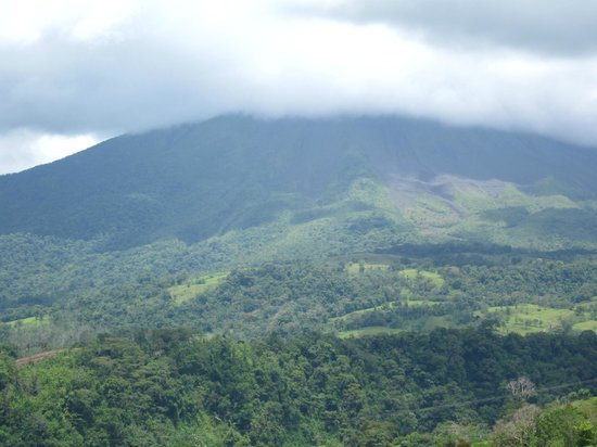 The Springs Resort and Spa:                   view if Arenal Volcano