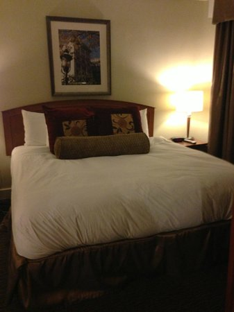 Jefferson Clinton Hotel: Executive suite bedroom