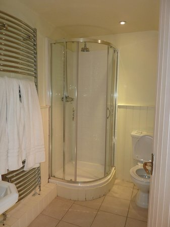 Fosse Manor Hotel: The power shower