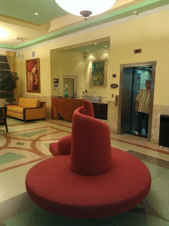 Hilton Grand Vacations Club at South Beach:                   Lobby