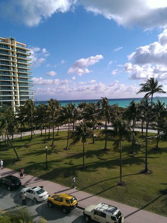 Hilton Grand Vacations Club at South Beach:                   View from the terrace