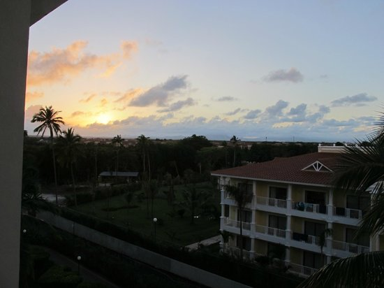Riu Palace Punta Cana:                                     Sunset from room 3157