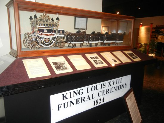 National Museum of Funeral History: Carriage of some kings