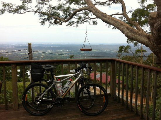 Tamborine Mountain Bed & Breakfast:                   View from the Balcony