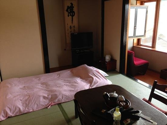Kiyoshigekan:                   the single room lay out here