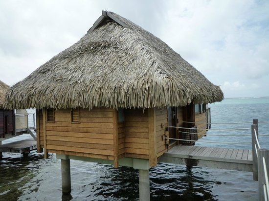Moorea Pearl Resort & Spa:                                     Over-the-water Bungalow