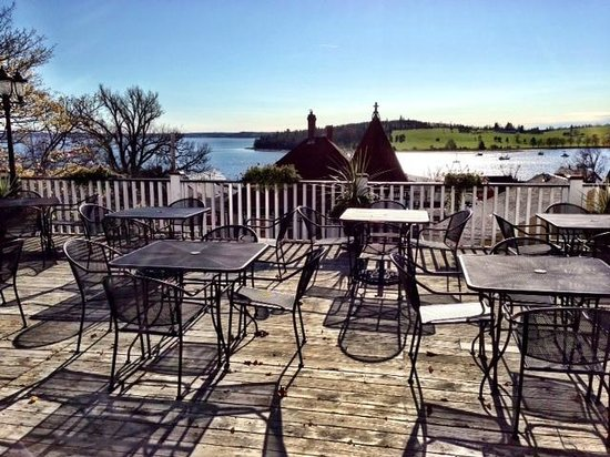 Boscawen Inn: The Deck