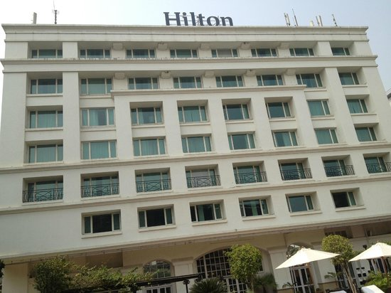 Hilton Mumbai International Airport:                   Rear of Hotel, Pool View