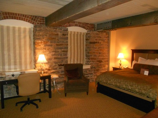 Craddock Terry Hotel:                   One of the rooms