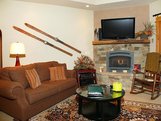 Canyon Creek Condominiums: Sample Living Area