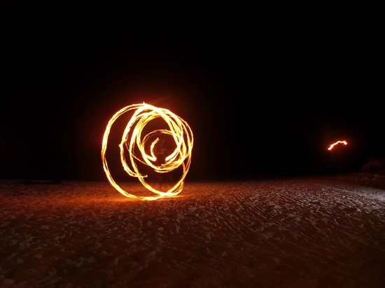 Mayan Princess Beach & Dive Resort: Fire Dancers