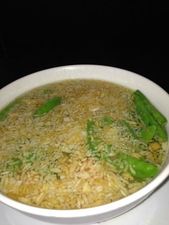 Wang's Asian Fusion Photo: Sizzling Rice Soup