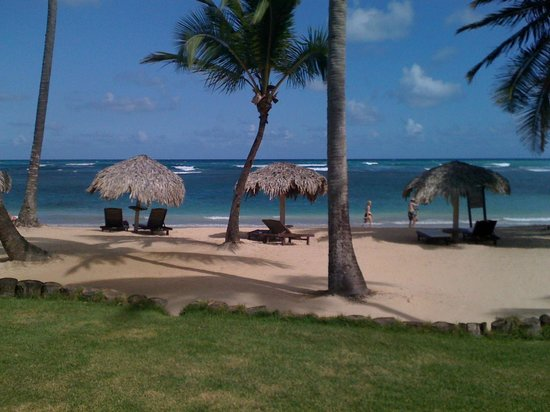 Zoetry Agua Punta Cana:                   Ocean front view from Room 18 - Sharon Suite