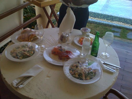 Zoetry Agua Punta Cana:                   Room Service Lunch
