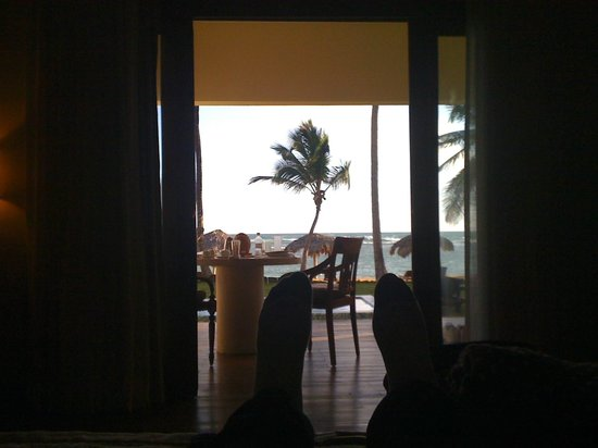 Zoetry Agua Punta Cana:                   View from Bed